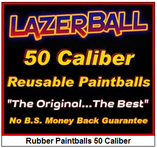 50 Caliber Rubber Paintball