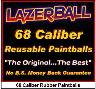 68 Caliber Rubber Paintballs