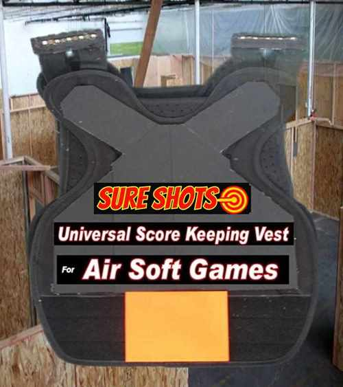 10 Airsoft Score Keeping Vests