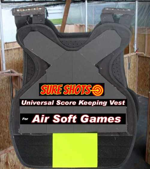 Air Soft Universal Score Keeping Vest