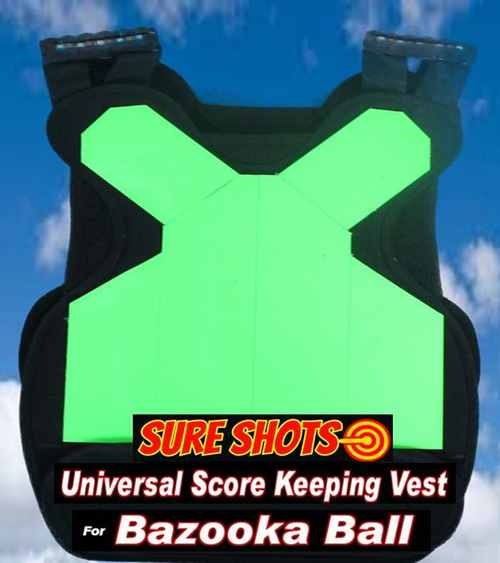 10 Bazooka Ball Score Keeping Vest System