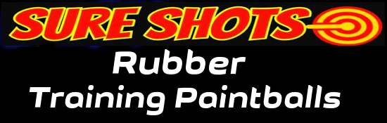 Rubber Training Paintballs | Rubber Practice Paintball