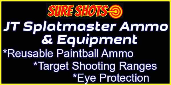 Clck to See all JT Splatmaster Reusable Ammo & Target Ranges