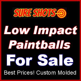 Low Impact Paintballs for Sale