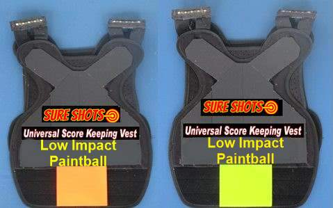 Low Impact Score Keeping Vests