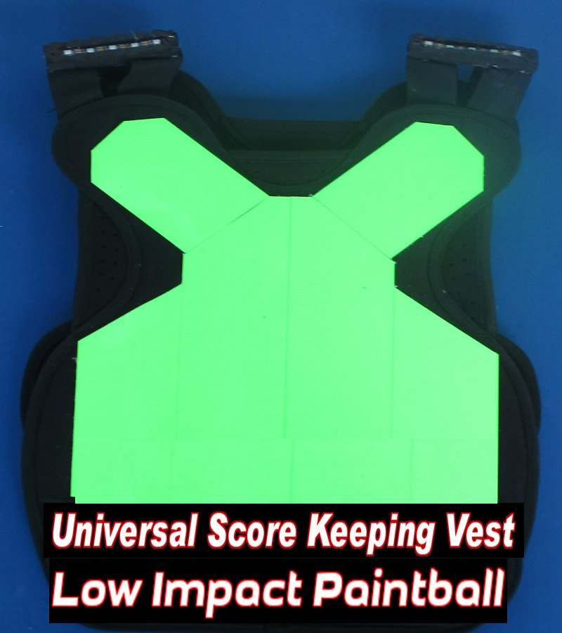 Low Impact Paintball 10 Score Keeping Vests