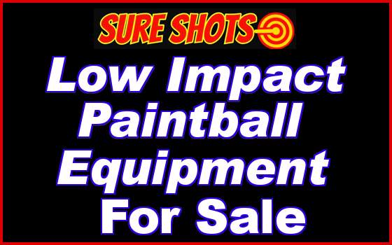 Low Impact Paintball Equipment For Sale