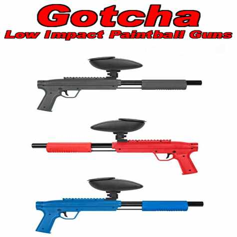 Gotcha Low Impact Paintball Guns