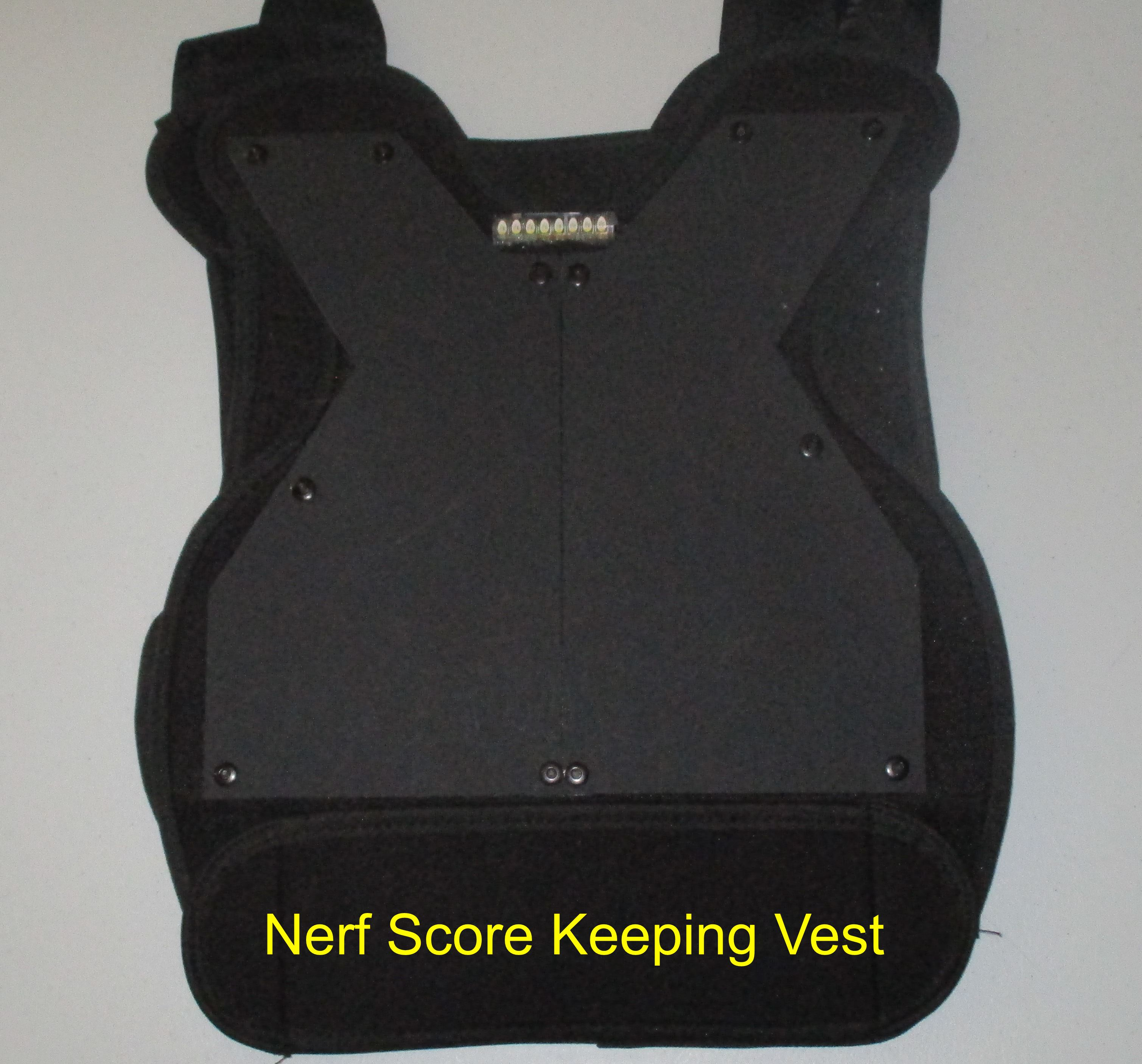 Nerf Score Keeping Vest - Personal Use