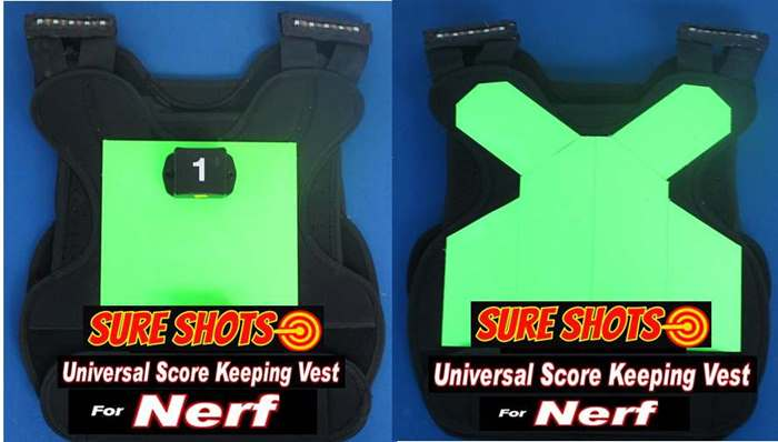 Nerf Score Keeping Vests