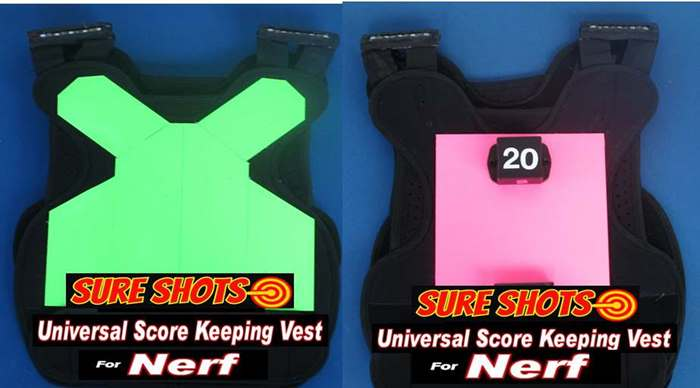 Nerf Score Keeping Vests 10 Score Keeping Vests