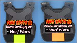 20 Nerf Score Keeping Vests