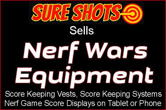 Nerf Wars Equipment