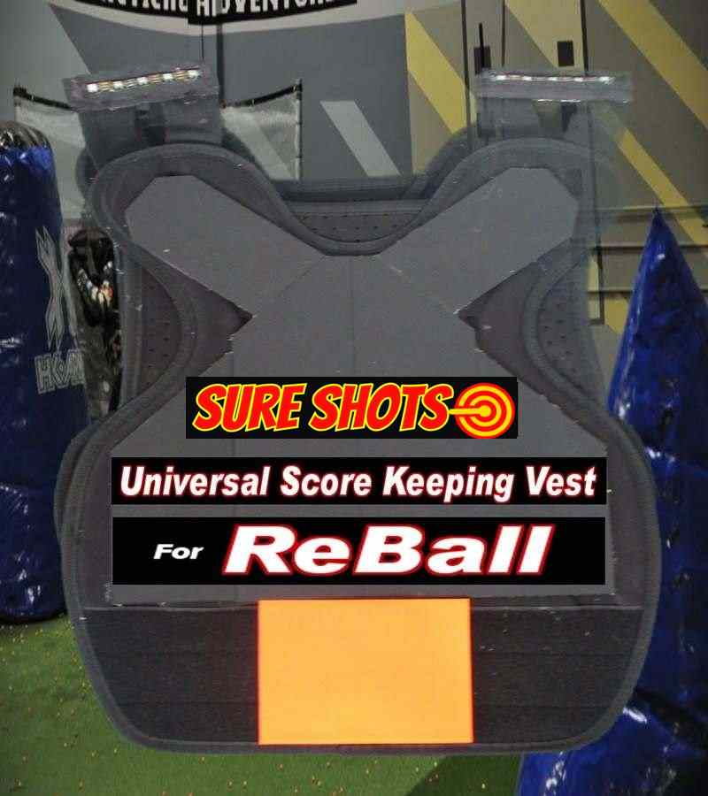 10 Reball Score Keeping Vest System