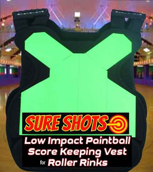 10 Low Impact Paintball Score Keeping Vests for Roller Rinks