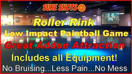 Low Impact Paintball For Roller Rinks