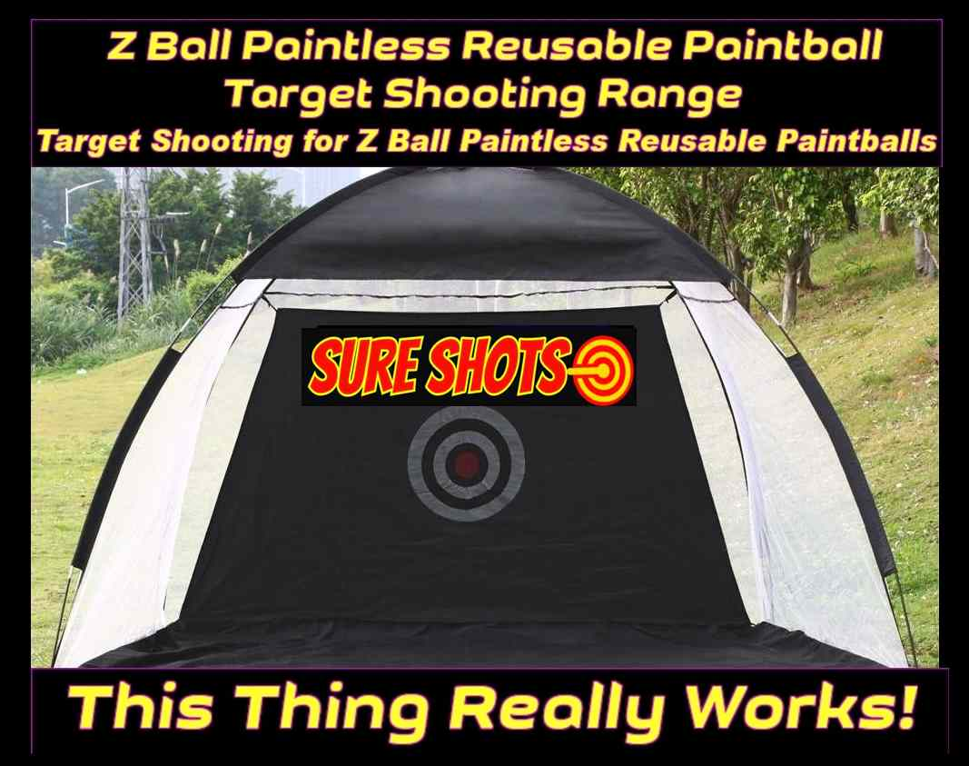 Z Ball Reusable Paintball Target Range