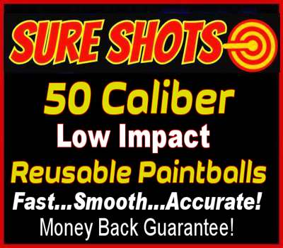 Reusable Paintballs 50 Caliber