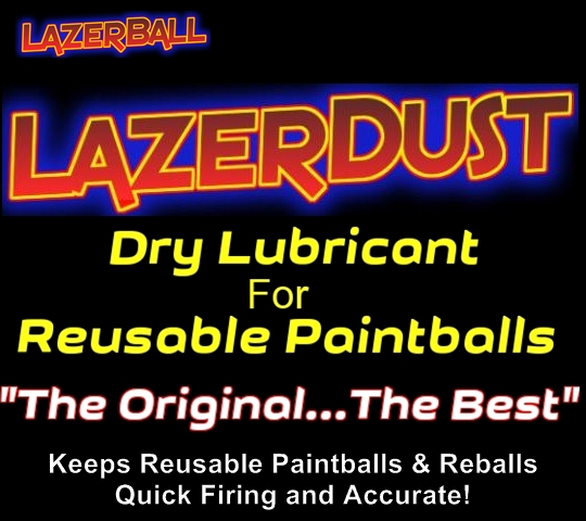 LazerDust - Reusable Paintball Lubricant 1 oz