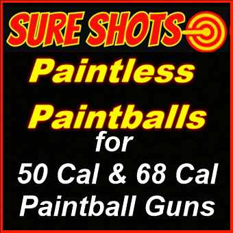 Paintless Paintballs