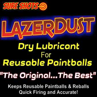 Reusable Rubber Paintball Lubricant
