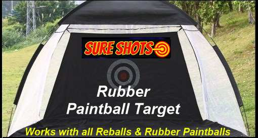 Rubber Paintball Target